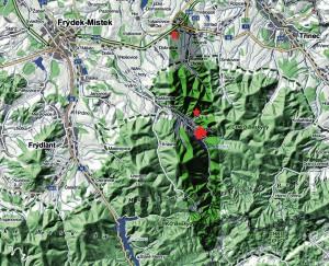 Mapa dopadu-panel